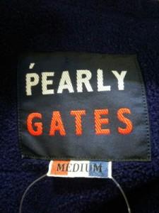 パーリーゲイツ PEARLY GATES ブルゾン サイズ【M】 メンズ オレンジ 冬物【中古】