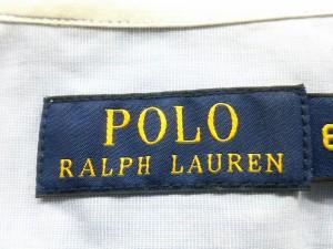 ポロラルフローレン POLObyRalphLauren ワンピース サイズ6【M】 レディース ライトブルー シャツワンピ【中古】