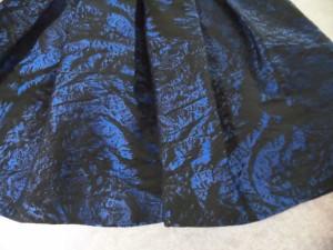 プロエンザスクーラー Proenza Schouler ワンピース サイズ2【M】 レディース 黒×ブルー 刺繍/メッシュ【中古】