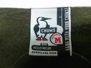 チャムス CHUMS ブルゾン サイズ【M】 レディース グレー×マルチ 冬物/裏起毛【中古】