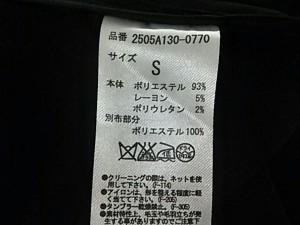 アズールバイマウジー AZUL by moussy コート サイズ【S】 レディース 美品 黒 冬物【中古】