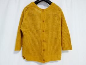 ティアラ Tiara 七分袖セーター レディース 美品 オレンジ【中古】