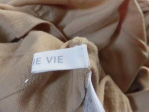 ギャルリーヴィー GALERIE VIE 長袖セーター サイズ1【S】 レディース 美品 ベージュ タートルネック【中古】