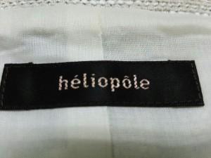エリオポール heliopole ジャケット サイズ36【S】 レディース ベージュ ノーカラー/フック金具【中古】