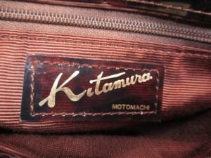 キタムラ Kitamura K2 ショルダーバッグ ブラウン×ダークブラウン×ゴールド ビニール【中古】
