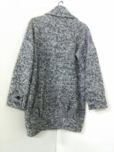 ムルーア MURUA コート サイズ99 レディース 美品 ライトグレー×ダークグレー×黒【中古】