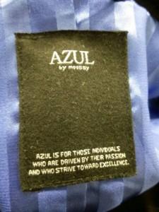 アズールバイマウジー AZUL by moussy Pコート サイズ【M】 レディース 美品 黒【中古】