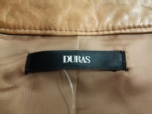 デュラス DURAS ライダースジャケット サイズ【F】 レディース ライトブラウン【中古】
