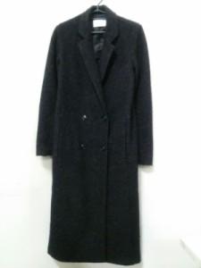 マウジー moussy コート サイズ1【S】 レディース 黒 冬物【中古】