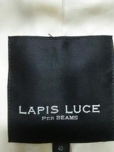 ラピスルーチェ LAPIS LUCE PER BEAMS トレンチコート サイズ40【M】 レディース ベージュ 春・秋物【中古】