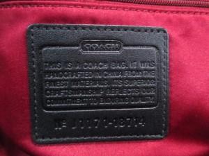 コーチ COACH ハンドバッグ ポピー タータンフォールドオーバークロスボディーバッグ 18714 レッド×マルチ チェック柄【中古】