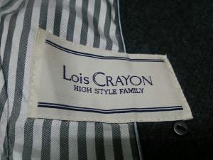 ロイスクレヨン Lois CRAYON コート サイズ【M】 レディース グレー ショート丈/冬物【中古】