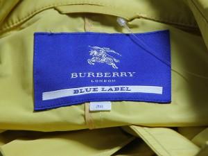 バーバリーブルーレーベル Burberry Blue Label コート サイズ38 M レディース イエローブラウン 春・秋物【中古】