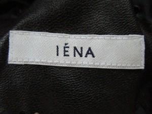 イエナ IENA コート サイズ38 M レディース ダークグレー×ライトグレー ニット/春・秋物【中古】