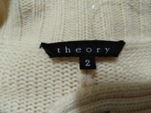 セオリー theory カーディガン サイズ2 S レディース アイボリー【中古】