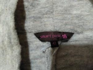 スマートピンク smartpink ワンピース サイズ42 L レディース ベージュ ハイネック【中古】