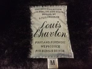 ルイスシャブロン LOUIS CHAVLON ダッフルコート サイズ【M】 レディース ダークブラウン 冬物/フェイクムートン【中古】
