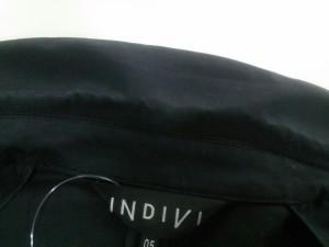 インディビ INDIVI ジャケット サイズ5【XS】 レディース 黒 コットン【中古】
