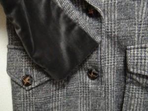 ウィムガゼット whim gazette ジャケット サイズ【F】 レディース 美品 ダークグレー×アイボリー【中古】