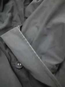 アメリカンレトロ AMERICAN RETRO コート サイズ38【M】 レディース 黒 春・秋物/七分袖【中古】