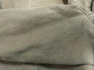 アルマーニジーンズ ARMANIJEANS Gジャン サイズ42 M レディース カーキ USED加工/袖部分中綿入り/春・秋物【中古】