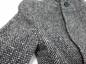 ピンキー&ダイアン Pinky&Dianne コート サイズ38 M レディース 黒×アイボリー ショート丈/冬物【中古】