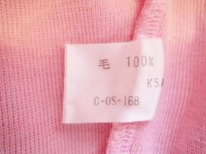 クレージュ COURREGES 長袖セーター サイズ9 M レディース ピンク 肩パッド【中古】