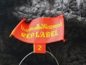 ヴィヴィアンウエストウッドレッドレーベル VivienneWestwoodRedLabel コート サイズ2 M レディース ダークグレー 冬物/ニット【中古】
