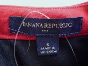 バナナリパブリック BANANA REPUBLIC ワンピース サイズ6 M レディース レッド【中古】