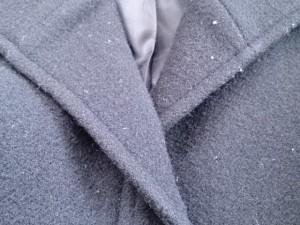 ナチュラルビューティー ベーシック NATURAL BEAUTY BASIC コート サイズS レディース 黒 冬物【中古】