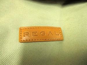 リーガル REGAL ショルダーバッグ ライトグリーン×ライトブラウン ポリエステル×合皮【中古】