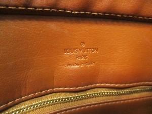 ルイヴィトン トートバッグ モノグラムヴェルニ ヒューストン M91122 ブロンズ パテントレザー(モノグラム型押し)【中古】