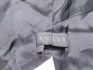 アナイ ANAYI ワンピース サイズ38 M レディース グレー×黒 チェック柄【中古】