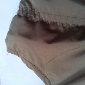 ダブルスタンダードクロージング DOUBLE STANDARD CLOTHING ダウンベスト サイズF レディース ブラウン×グレー 冬物【中古】