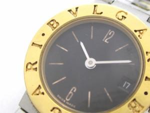 ブルガリ BVLGARI 腕時計 ブルガリブルガリ BB23SG レディース 黒【中古】