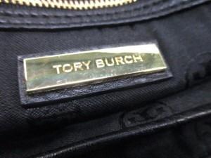 トリーバーチ TORY BURCH ハンドバッグ 黒 レザー【中古】
