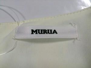 ムルーア MURUA ワンピース サイズ1(S) レディース 美品 アイボリー×ブルー×イエロー 花柄【中古】