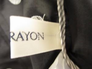 ロイスクレヨン Lois CRAYON ジャケット サイズM レディース ネイビー×白 ドット柄【中古】