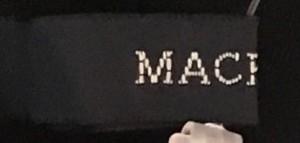 マカフィ MACPHEE ワンピース サイズ38 M レディース 黒【中古】