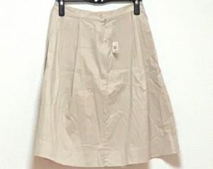 ウィムガゼット whim gazette スカート サイズ38 M レディース 美品 ベージュ 麻混【中古】