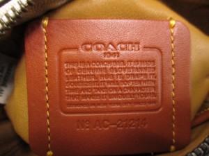 コーチ COACH ハンドバッグ 美品 エース サッチェル 14 グラブタン 38226 アイボリー ミニサイズ レザー【中古】