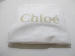 クロエ Chloe トートバッグ ベイリー 3S0172-882 マシュマログレー×黒 レザー【中古】