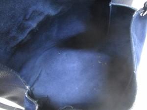 セリーヌ CELINE ショルダーバッグ オールソフト ネイビー×ダークネイビー レザー×スエード【中古】