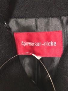 アプワイザーリッシェ Apuweiser-riche コート サイズ1 S レディース 美品 黒 冬物【中古】