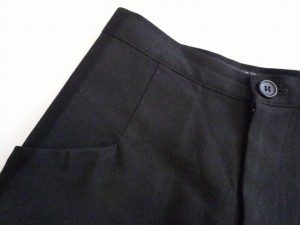 ワイズ Y's パンツ サイズ2 M レディース 黒【中古】