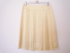 アナイ ANAYI スカート サイズ36 S レディース イエロー【中古】