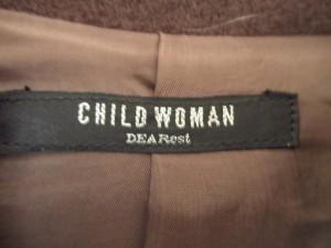 チャイルドウーマン CHILD WOMAN コート サイズF レディース ダークブラウン 冬物/ステンカラー/dearest【中古】
