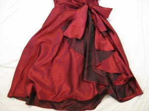 プリフェレンスパーティーズ PREFERENCE PARTY'S ドレス サイズ38 M レディース 美品 ボルドー【中古】