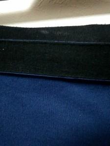 ソニアリキエル SONIARYKIEL スカート サイズM レディース 美品 ブルー×黒 リボン【中古】