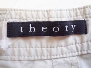 セオリー theory パンツ サイズ32 XS メンズ ベージュ カーゴパンツ【中古】
